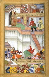 Akbar_orders_punishment_of_Adham_Khan,_Akbarnama